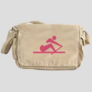 Pink Crew Messenger Bag