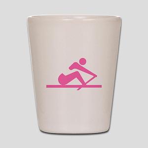 Pink Crew Shot Glass