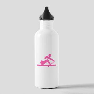 Pink Crew Water Bottle