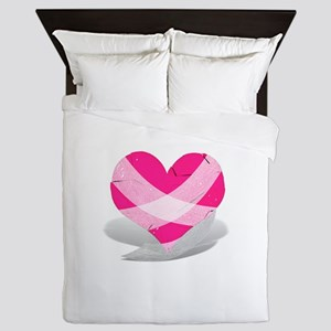 Anti-Valentine - Broken Heart Queen Duvet