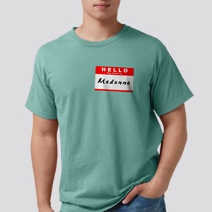 Madonna, Name Tag Sticker T-Shirt