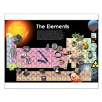 Elements Small Poster