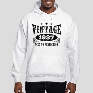 Vintage 1937 Hooded Sweatshirt