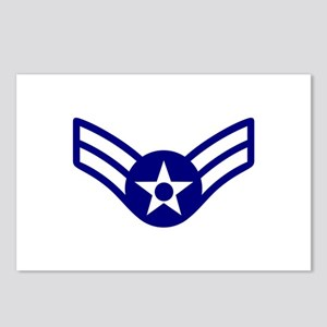 USAF E-3 AIRMAN FIRST CLASS Postcards (Package of