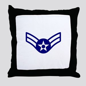 USAF E-3 AIRMAN FIRST CLASS Throw Pillow
