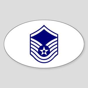 USAF E-7 MASTER SERGEANT Sticker