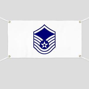 USAF E-7 MASTER SERGEANT Banner