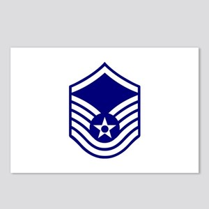 USAF E-7 MASTER SERGEANT Postcards (Package of 8)