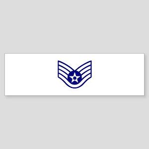 USAF E-5 STAFF SERGEANT Bumper Sticker
