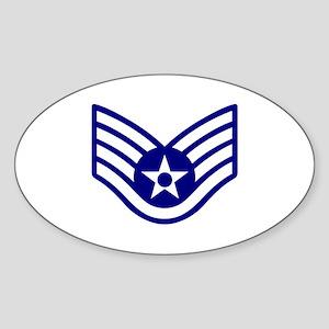 USAF E-5 STAFF SERGEANT Sticker