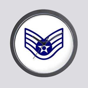 USAF E-5 STAFF SERGEANT Wall Clock
