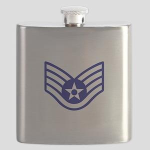 USAF E-5 STAFF SERGEANT Flask