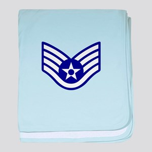 USAF E-5 STAFF SERGEANT baby blanket