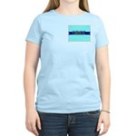 Women's Pink Tee for a True Blue Colorado LIBERAL