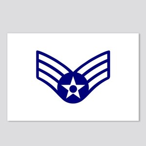 USAF E-4 SENIOR AIRMAN Postcards (Package of 8)