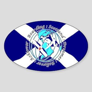 Scottish board sport Sticker