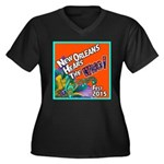 Jazz Fest 2015 The Who? Plus Size T-Shirt