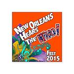 Jazz Fest 2015 The Who? Sticker