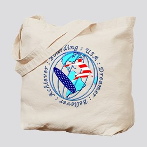Usa Boarding Sports Tote Bag