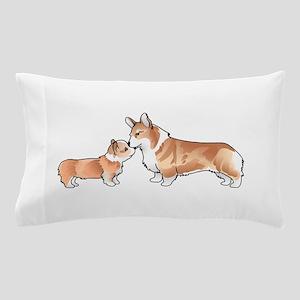 CORGI ADULT AND PUP Pillow Case