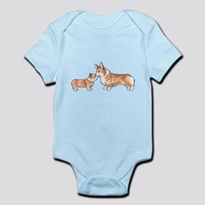 CORGI ADULT AND PUP Body Suit