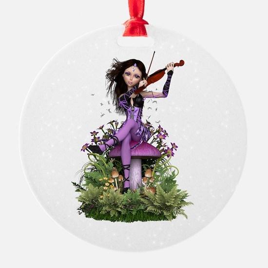 Amethyst Fairy ~ Summer Melody Ornament