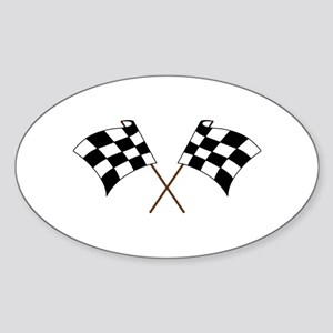 RACING FLAGS Sticker
