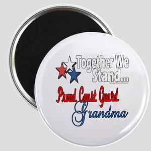 Coast Guard Grandma Magnet
