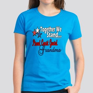 Coast Guard Grandma Women's Dark T-Shirt