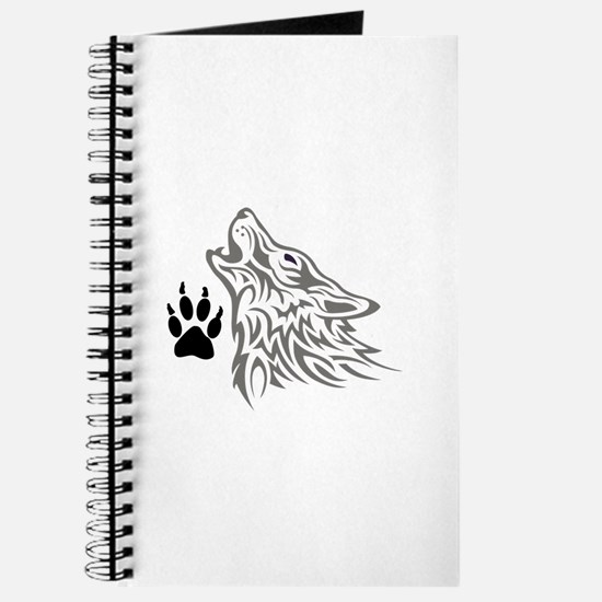 WOLF AND PAW PRINT Journal