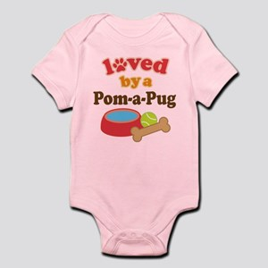 Pom-A-Pug Infant Bodysuit