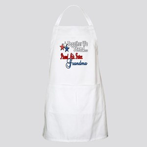 Air Force Grandma BBQ Apron