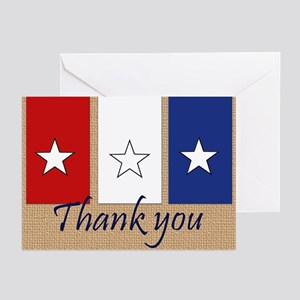 Veterans day greeting cards cafepress thank you stars greeting cards m4hsunfo