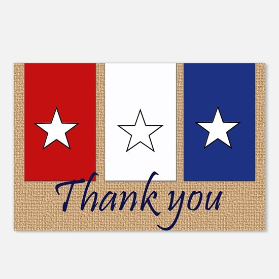 Thank You Stars Postcards (Package of 8)