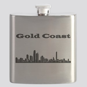 Gold Coast Skyline Flask