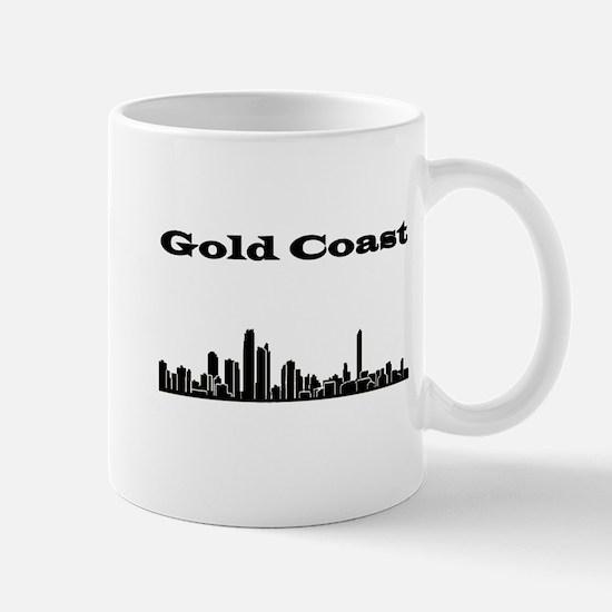Gold Coast Skyline Mugs