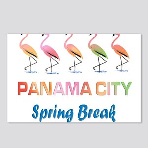 Tropical Flamingos PANAMA Postcards (Package of 8)