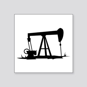 OIL WELL SILHOUETTE Sticker