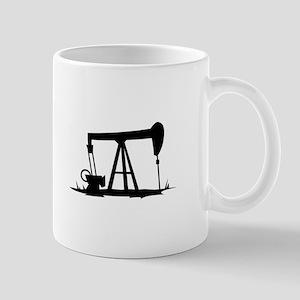 OIL WELL SILHOUETTE Mugs