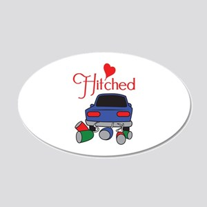 HITCHED Wall Decal