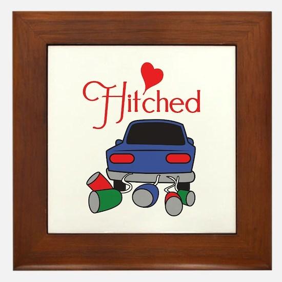 HITCHED Framed Tile
