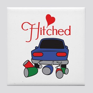 HITCHED Tile Coaster