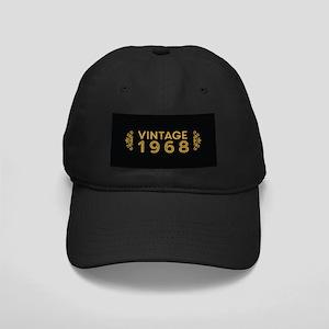 Vintage 1968 Black Cap