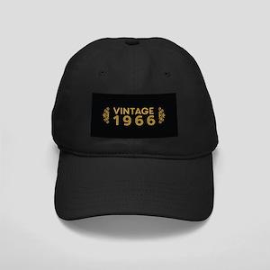 Vintage 1966 Black Cap