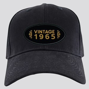 Vintage 1965 Black Cap