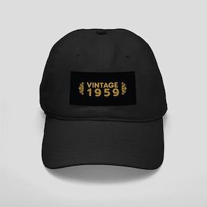 Vintage 1959 Black Cap