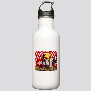 valentines day makeup Stainless Water Bottle 1.0L