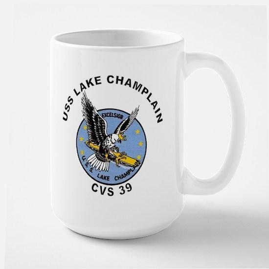 CVS-39 Lake Champlain Large Mug