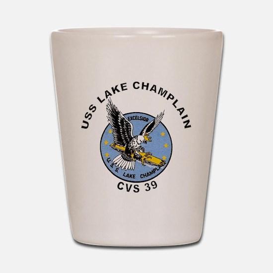 CVS-39 Lake Champlain Shot Glass