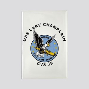 CVS-39 Lake Champlain Rectangle Magnet